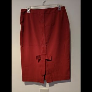 Victoria's secret pencil skirt with bow